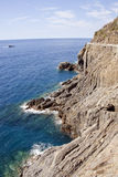 Walk the cinque terre Stock Images