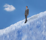 A Walk in the Clouds Royalty Free Stock Photography