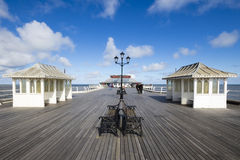 A Walk on Cromer Pier Royalty Free Stock Photo