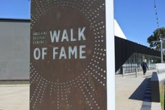 Walk of Fame in Adelaide South Australia. ADELAIDE - MAR 29 2019:Walk of Fame, honours many diverse artists who have graced the stages of Adelaide Festival royalty free stock images