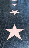 Walk of Fame Stock Image