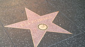 Walk of Fame Ella Fitzgerald Stock Image
