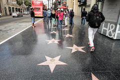 Walk of fame Stock Photography