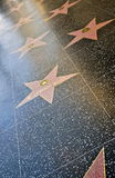 Walk of Fame, Hollywood Stock Photo