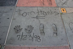 Walk of Fame Stock Images