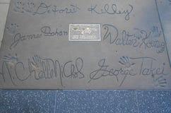 Walk of Fame Royalty Free Stock Image