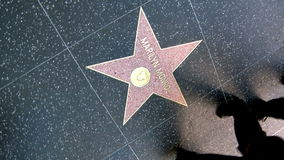 Walk of Fame Marilyn Monroe Stock Photography
