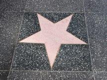 Walk of fame star Stock Photo