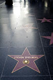 Walk Of Fame, Steven Spielberg Stock Photography