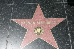 Walk of Fame, steven spielberg Royalty Free Stock Images