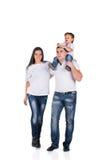 Walk family Royalty Free Stock Photos