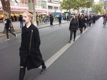 Walk for Freedom 2018 in Berlin stock photo