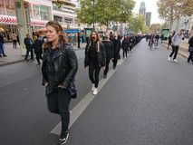 Walk for Freedom 2018 in Berlin stock images