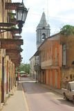 Casco Antiguo, Republic of Panama. Colonial Area. Walk through the historic area of Casco Antiguo, an area of great history where buildings of great Stock Photos