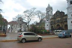Casco Antiguo, Republic of Panama. Colonial Area. Stock Photography