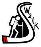 Walk icon Royalty Free Stock Photo