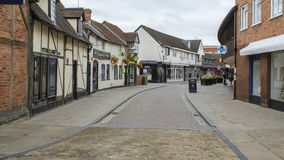 Walk Into The Hometown Of Shakespeare Stock Image