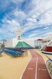 Walk Jog Track on Cruise Ship Royalty Free Stock Image