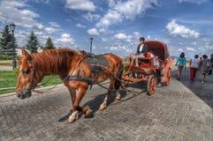 Walk the Kazan Kremlin. Royalty Free Stock Photography