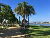 A walk at Liberty Station. Trail at Liberty Station in San Diego, California royalty free stock photo