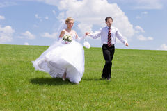Walk of lovers stock image