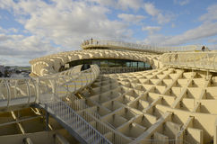 Walk in the Metropol Parasol Royalty Free Stock Images