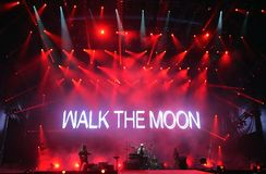 Walk the Moon  Stock Photo