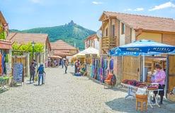 The walk in Mtskheta Stock Image