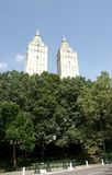Walk in new york central park Royalty Free Stock Photo