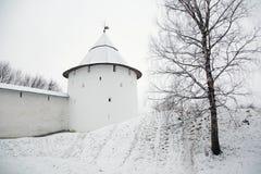 Free Walk On Pskovo- Pechersky Monastery In Winter Royalty Free Stock Images - 84301409