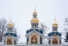 Free Walk On Pskovo- Pechersky Monastery In Winter Stock Photography - 84301522