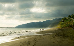A walk in paradise Royalty Free Stock Photography