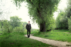 Walk in the park Royalty Free Stock Photo