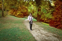 Walk in the park Stock Photo