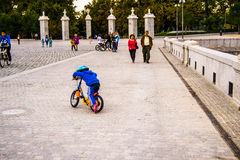Walk in the Park Madrid Royalty Free Stock Photography
