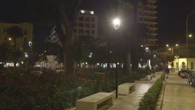 Walk park. Shooting a quiet walk in the park stock video footage