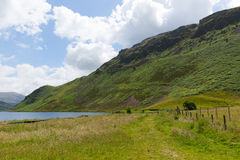 Walk and path around Ennerdale Lake District National Park Cumbria England uk Stock Images