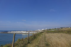 The walk from Rottingdean to Brighton 4 Stock Images