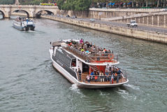 Walk on the Seine. Stock Photography