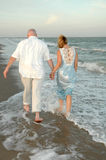 Walk the shores Royalty Free Stock Photos