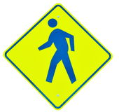 Walk sign Stock Photography