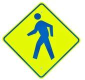 Walk sign Stock Photography