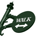 Walk sign Royalty Free Stock Images