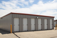 Walk In Size Storage Units Stock Photos