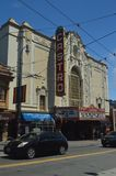 Walk Through The Streets Of San Francisco We Find The Castro Neighborhood. Travel Holidays Arquitecture. June 30, 2017. San Francisco. California USA EEUU Stock Images