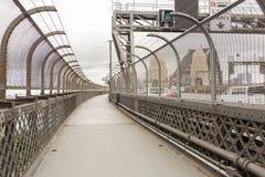 Walk on the Sydney Harbour Bridge, Sydeny royalty free stock photos