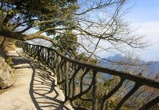 Walk at Tianmenshan. Stock Photo