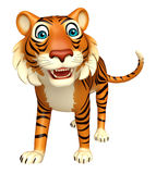 Walk Tiger cartoon character Stock Photos