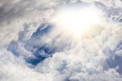 Walk to the heaven Royalty Free Stock Image
