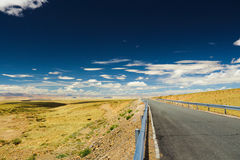 The walk to the horizon Stock Photo